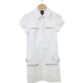 Bebe White Mini Dress