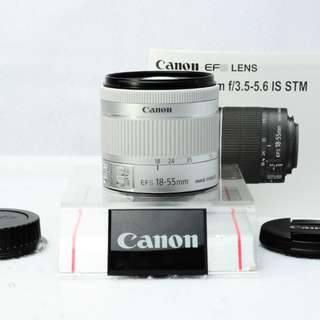 CANON ZOOM LENS EF-S 18-55mm F4-5.6 IS STM 二手鏡頭  日本代購