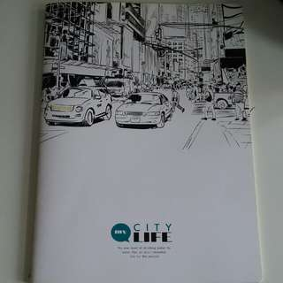 notebook from CityLife