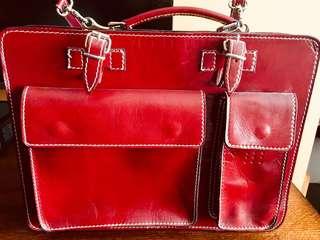 Ladies Spanish leather Briefcase