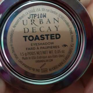 Eyeshadow urban decay toasted