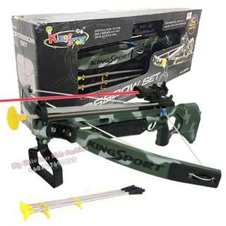 Real Action Game Crossbow Set with Scope Sight