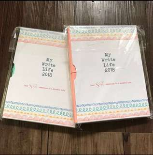 My Write Life 2018 (Mercury Drug Store Planner) MINT