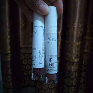 2 pcs Zoya lip paint