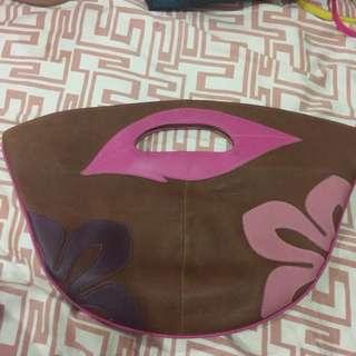 Brown and Pink handbag