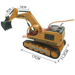 Die Cast RC Crawler Excavator 114 2.4GHz Remote Control Digger Truck Toy
