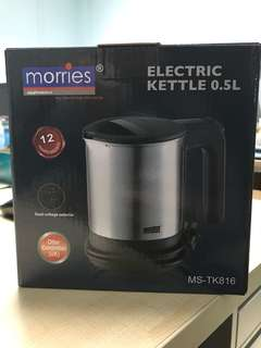 Morries electric kettle 0.5L