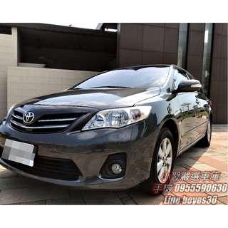 《2011 Toyota Corolla Altis 1.8 E》