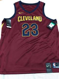 Authentic Nike NBA Swingman Jersey (LeBron James)