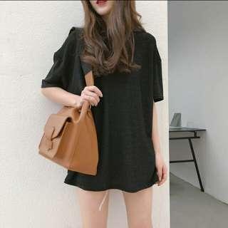(PO) Korean chic silk shirt top