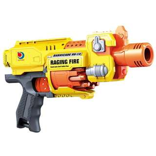 Raging Fire Electric Nerf Style - Semi Auto Soft Bullet Darts Gun Toy 7001