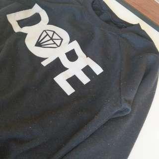 Black DOPE jumper