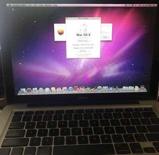 MacBook 5.1 (Late 2008) 2GB RAM, 160GB HDD