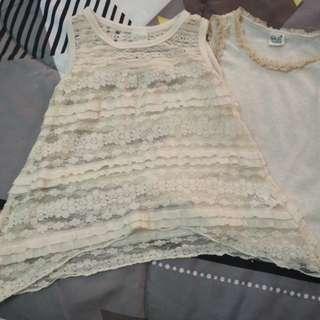 Set of baby girl dress 1year