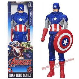 30cm The Avengers SuperHeros Captain American Hero Figure