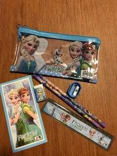 Frozen Pencil Case Stationery Set for Children's Party Gift (min order 10pcs)