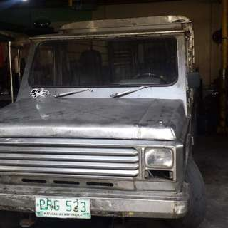 Isuzu 4ba1 fully stainless body, complete paper, running condition