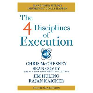 (Brand New) 4 Disciplines of Execution  By: Sean Covey  -  Paperback