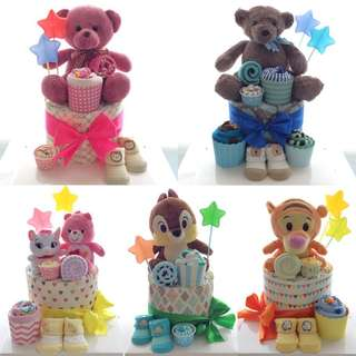 Ready-made Diaper cakes