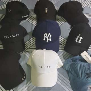 Korean fashion baseball caps
