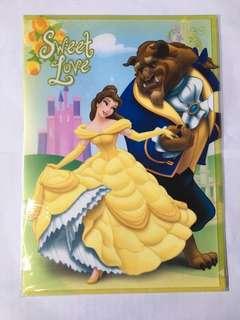 迪士尼 - 美女與野獸 Beauty and the Beast A4 文件夾