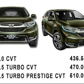 Honda all new crv Turbo