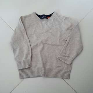 Brand New The Children's Place Beige Wool Sweater
