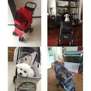 Pet Stroller/ 4 Wheel