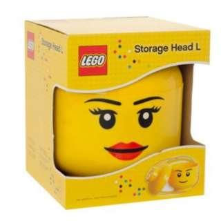 Lego Storage Head Large - GIRL (LS-40321725)