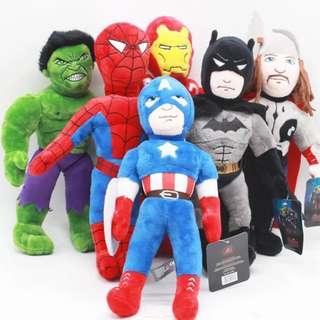 Little Heroes Plush Toy - GHR981  Design: as attach photo  Size: 30cm