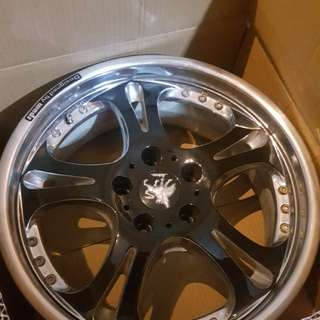 Weds sport 17 inch made in japan sport rim