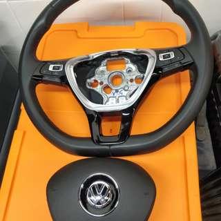 Golf7 多功能方向盤含氣囊