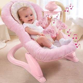 Summer Deluxe Soft Embrace Comfort Bouncer