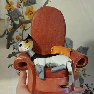 超美古典貓咪音樂盒(日本買)