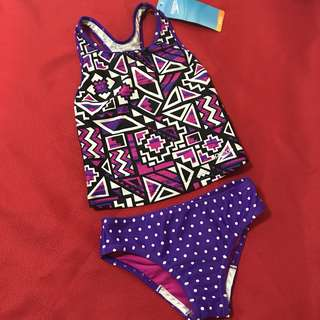 Swimwear 2 PIECE Purple and Pink