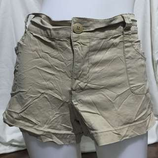 MOSSIMO khaki plus size low rise ladies sexy/walking shorts 15