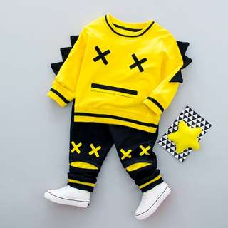 Toddler Boy Cute Outfit - 2-piece (Sweater and Pants)