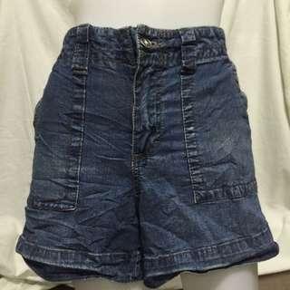 FADED GLORY denim plus size ladies walking/sexy shorts 12