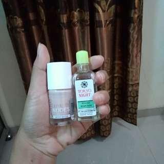 Catrice nail art and tokyo polish remover
