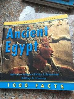 Ancient Egypt 1000 Facts