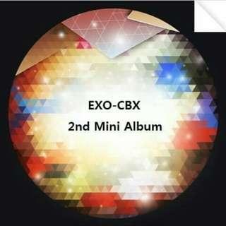 EXO-CBX : 2nd Mini Album
