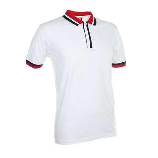 High Quality,Classic& Smart White Unisex Polo Collar T-Shirt