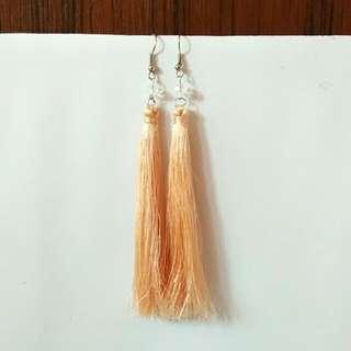 Tassel Nude Earring