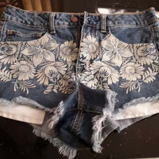 Original American Eagle Demin Shorts 30""