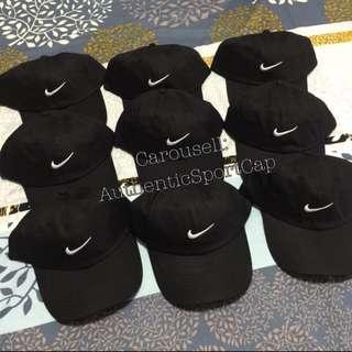 Authentic Nike Baseball Black Caps