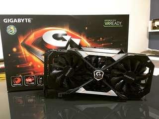 Gigabyte GTX 1070 Xtreme Gaming 8G 行貨 有盒有單 超頻版