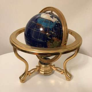 Luxury Metal Globe 🌎