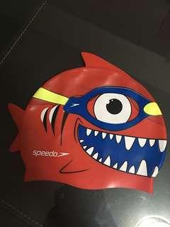 Swim cap for toddlers 2-4yo