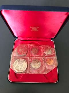 Singapore 1967 Proof Coins set
