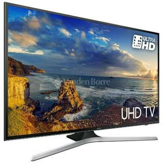 """SAMSUNG 43"""" SMART 4K UHD TV with 5 Years Warranty until 2022 Complete Set like new"""